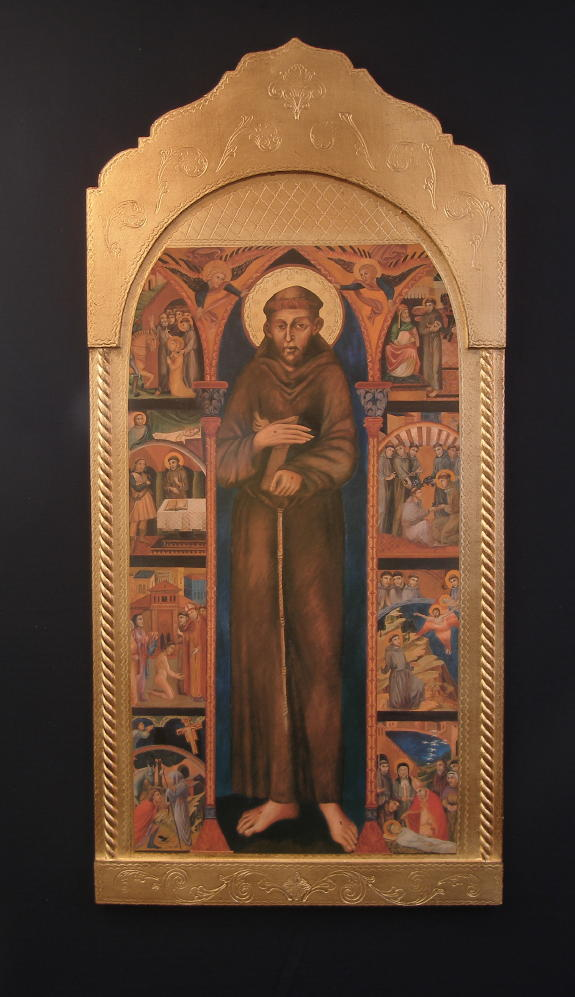 Life Of St. Francis Florentine Plaque