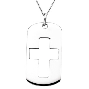 Sterling Silver The Covenant Of Prayer Tag
