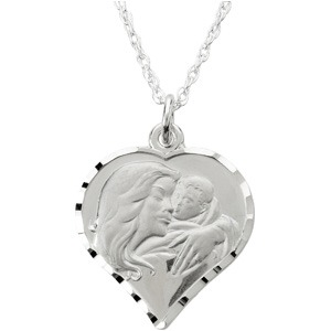 Sterling Silver My Beautiful Child Neck with Box