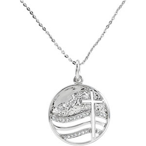 Sterling Silver Move The Mt Lrds Pendant Ch & Pkg