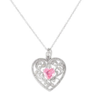 Sterling Silver Gft Of Motherhood Pendant & Ch with Pk
