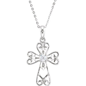 Sterling Silver Jesus The Morn Star Neck with Pac with Chain