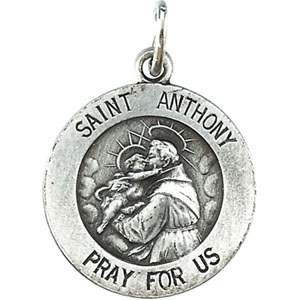 14K Yellow Gold St.Anthony Pendant
