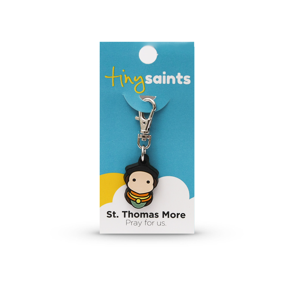 St. Thomas More Tiny Saint Charm
