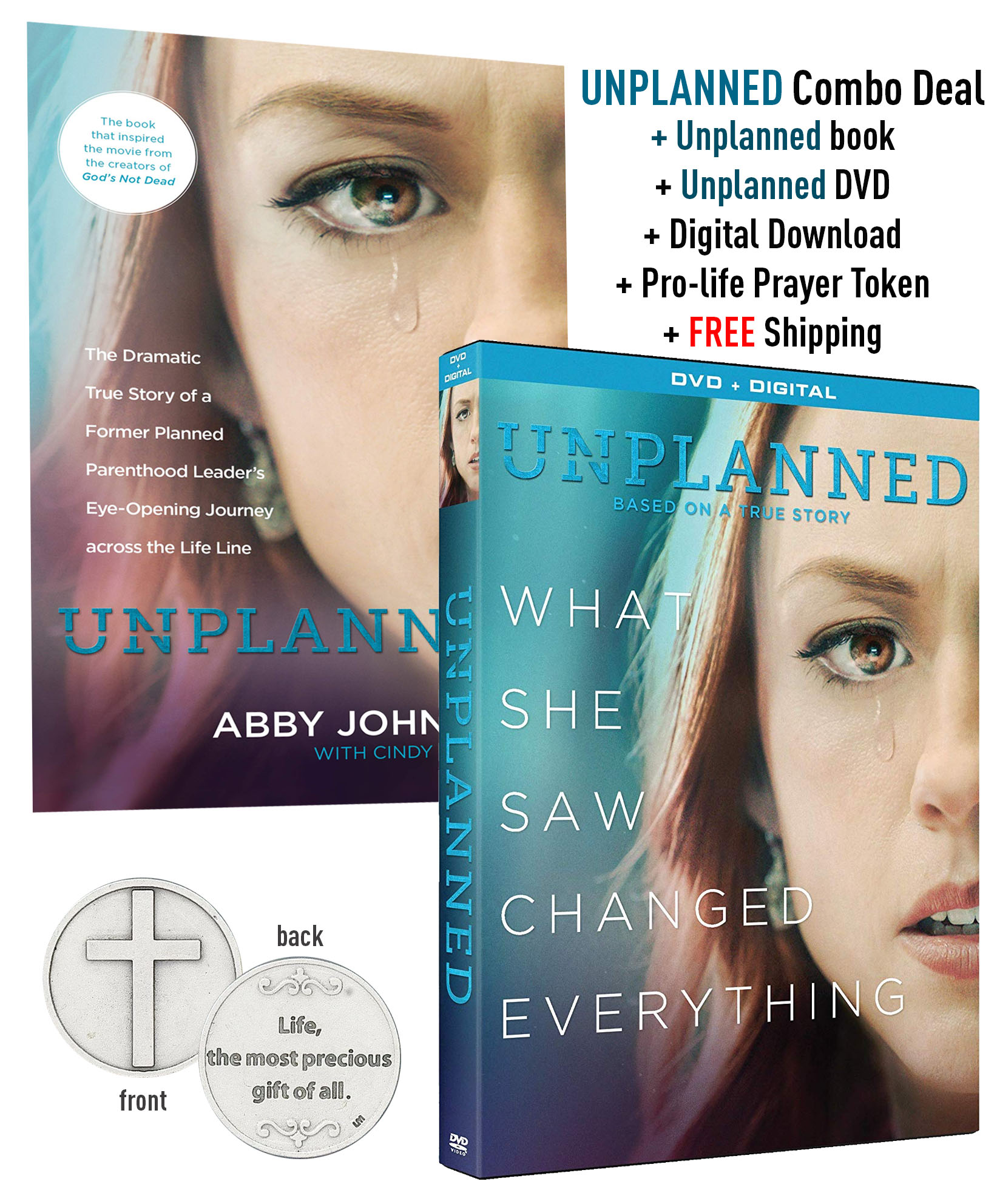 Unplanned DVD and Book