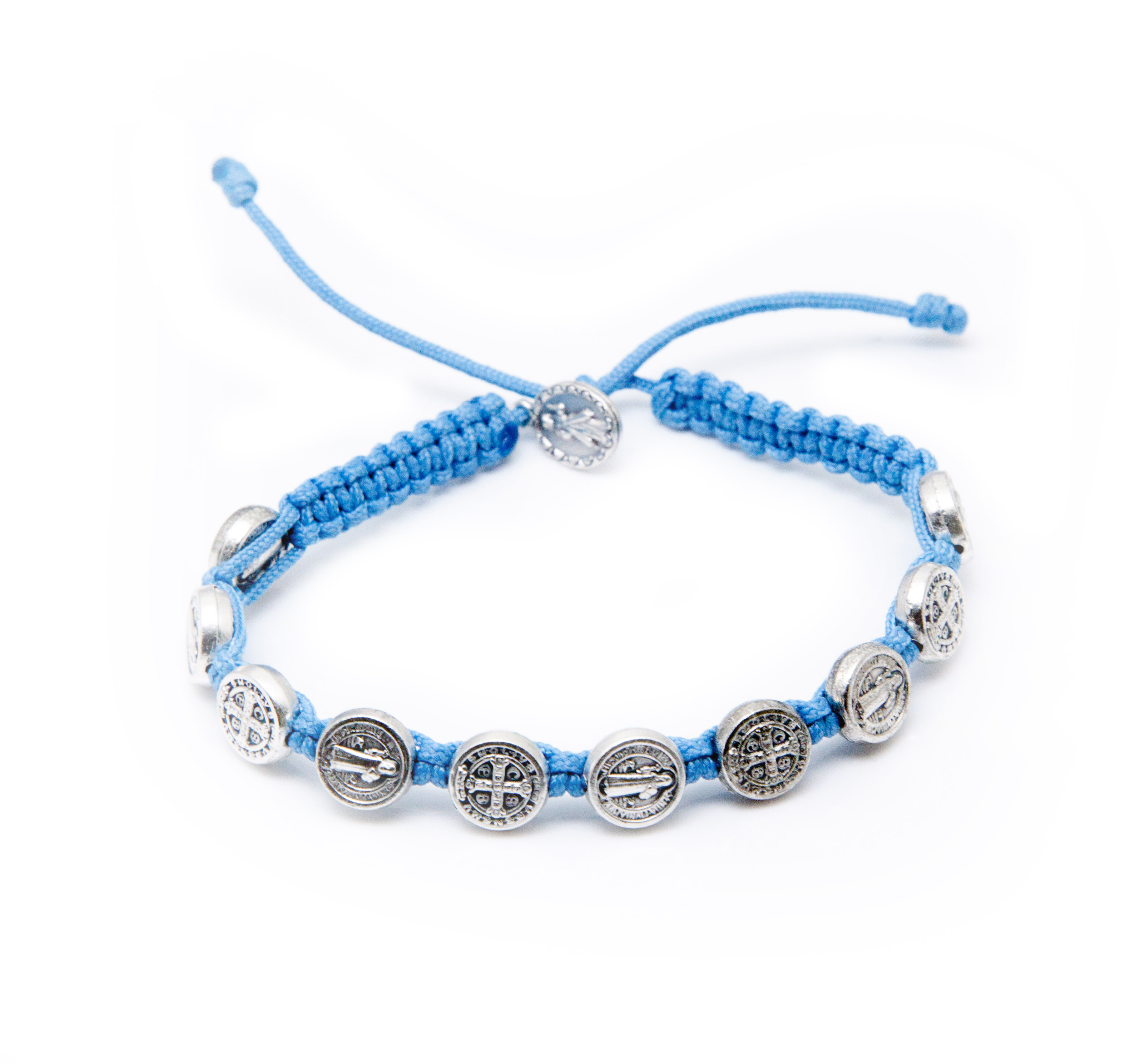 St. Benedict Bracelet - Light Blue