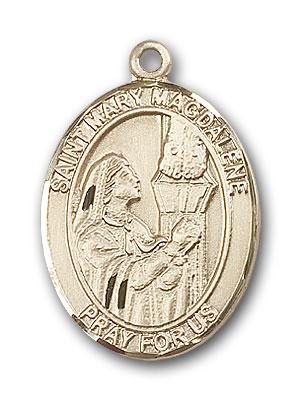 14k gold st mary magdalene medal at catholic shop 14k gold st mary magdalene pendant mozeypictures Choice Image