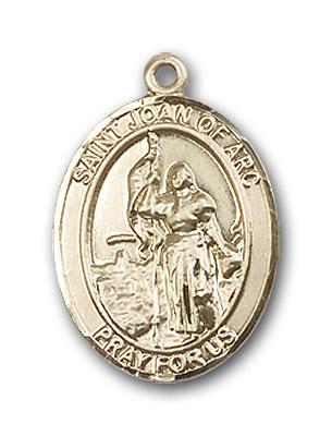 14k gold st joan of arc medal at catholic shop 14k gold st joan of arc pendant aloadofball Gallery