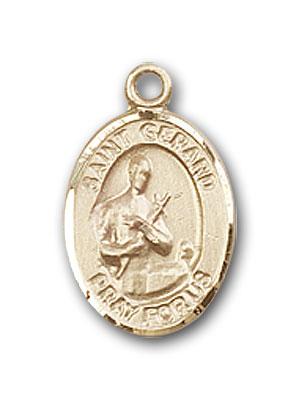 14k gold st gerard majella medal at catholic shop 14k gold st gerard majella pendant aloadofball Image collections
