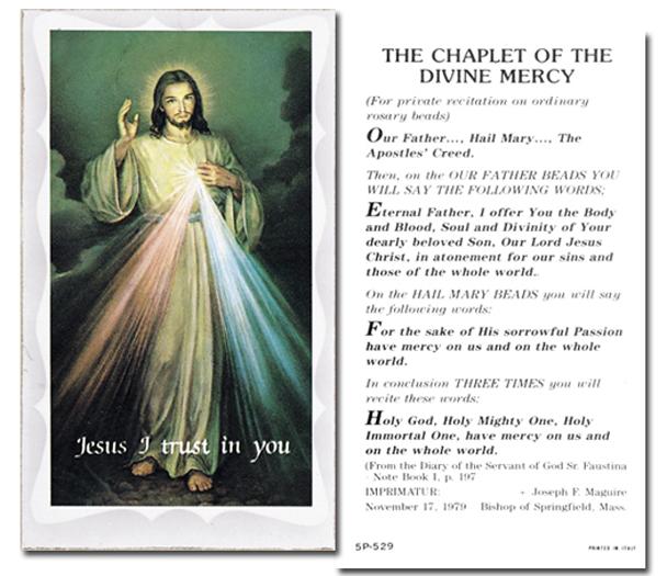 Bulk Holy Cards