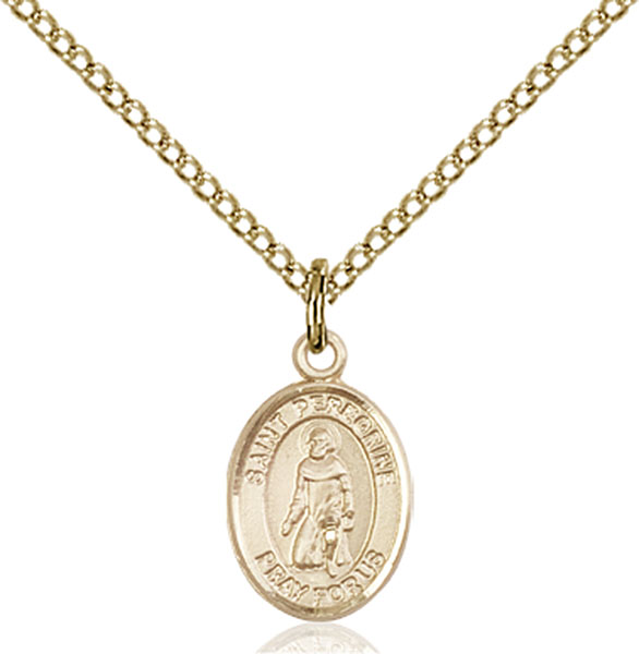 Catholic shop sells jewelry and patron saint medals and saint gold filled st peregrine laziosi pendant mozeypictures Gallery