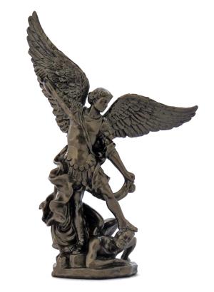 archangel michael sculpture